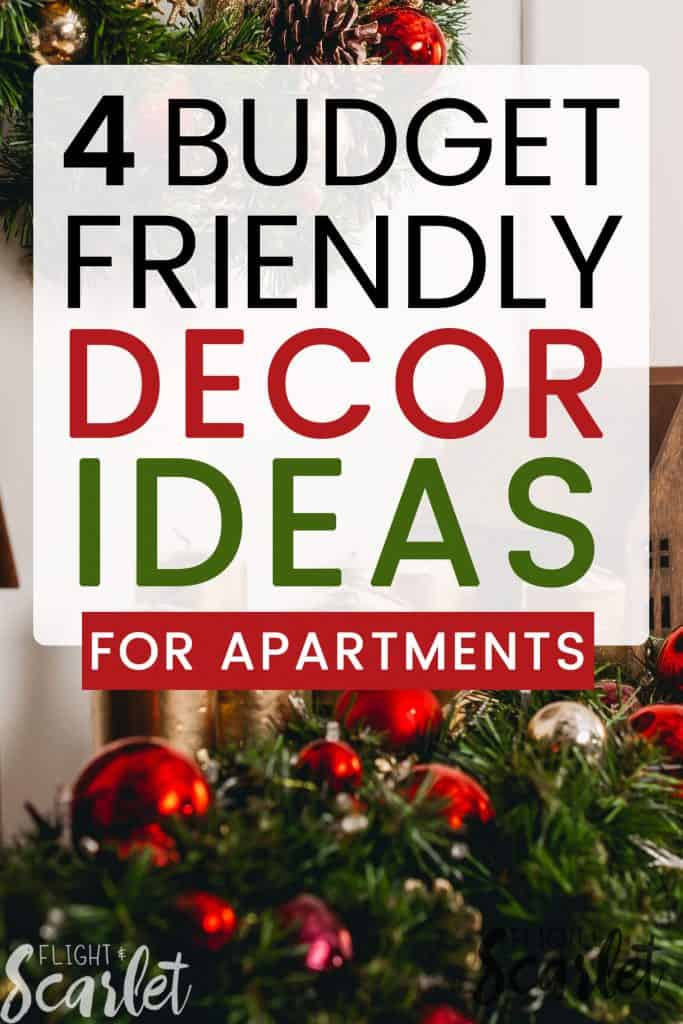 Holiday Decorating Ideas On A Budget Part - 39: If Youu0027re In Need Of Some Easy Holiday Decor Ideas For Apartments, You